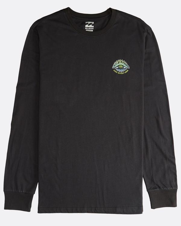 0 Iconic - Langärmeliges T-Shirt für Männer Schwarz Q1LS08BIF9 Billabong