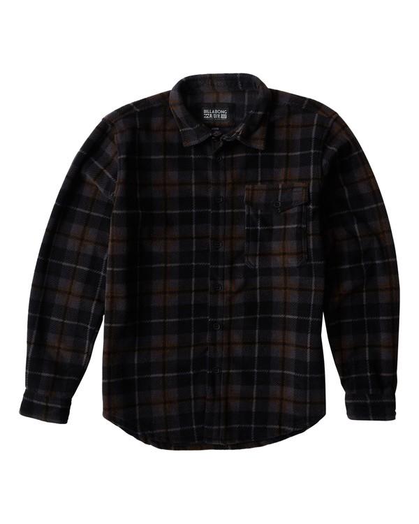 0 Furnace - Chemise Flannel pour Homme Noir Q1SH10BIF9 Billabong