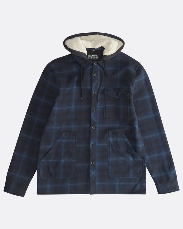 0 Furnace - Hemd in Verbundstoff für Männer Blau Q1SH12BIF9 Billabong