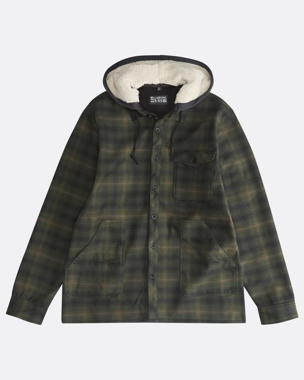 0 Furnace - Camisa Reforzada para Hombre Verde Q1SH12BIF9 Billabong