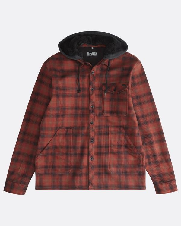 0 Furnace - Camisa Reforzada para Hombre Rojo Q1SH12BIF9 Billabong