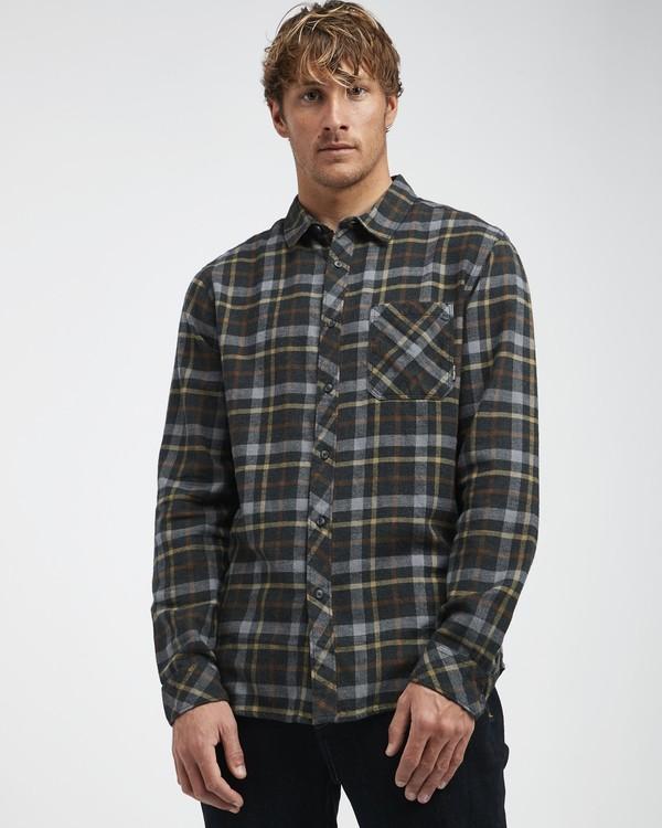 0 Fremont - Flanell Hemd für Männer Schwarz Q1SH13BIF9 Billabong