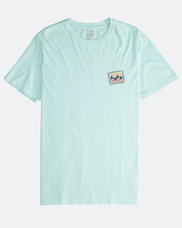 0 Iconic - T-Shirt für Männer Grün Q1SS06BIF9 Billabong