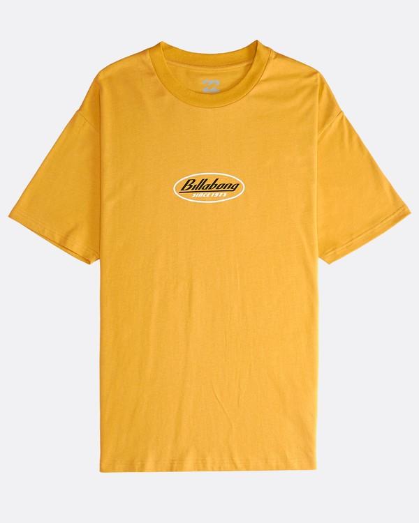 0 97 - T-Shirt für Männer Gelb Q1SS11BIF9 Billabong