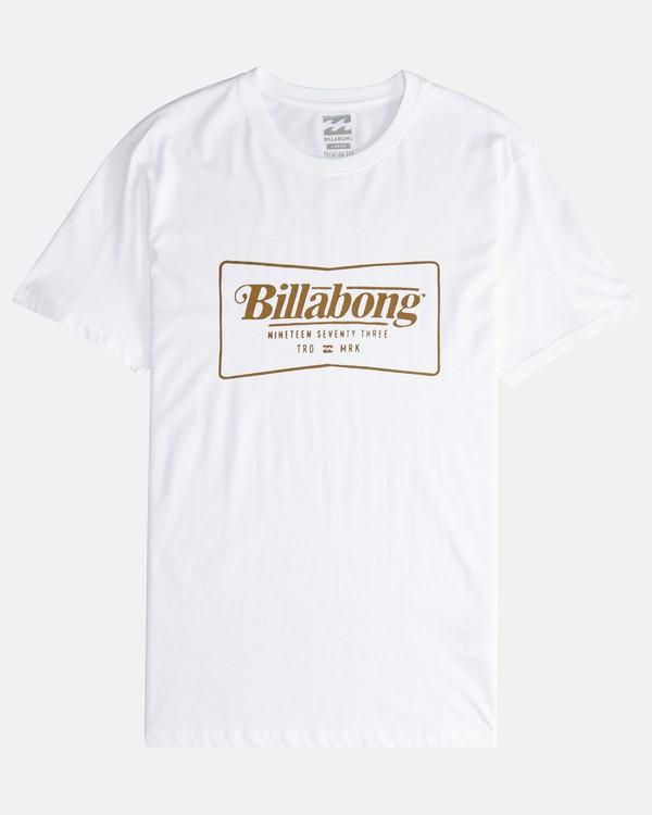 0 Trade Mark - T-Shirt für Männer Weiss Q1SS16BIF9 Billabong