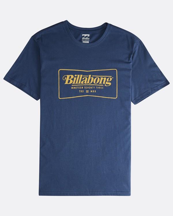0 Trade Mark - T-Shirt für Männer Blau Q1SS16BIF9 Billabong