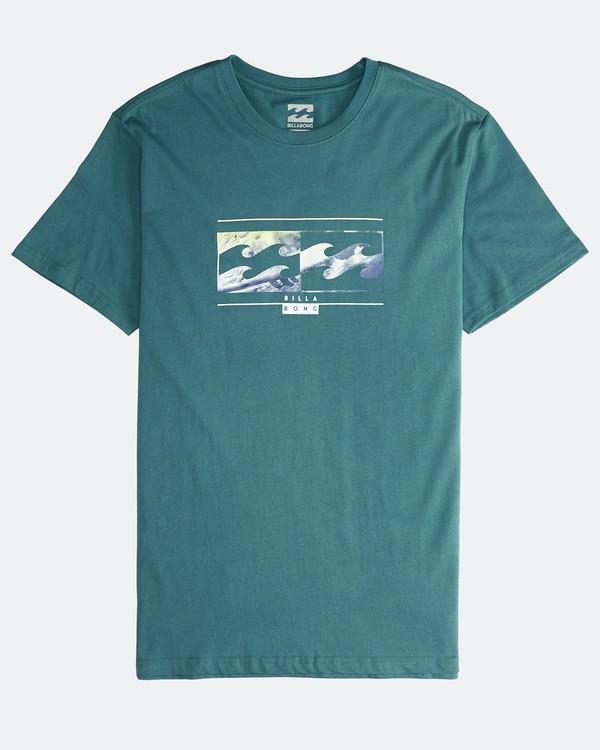 0 Inversed - T-Shirt für Männer Grün Q1SS22BIF9 Billabong