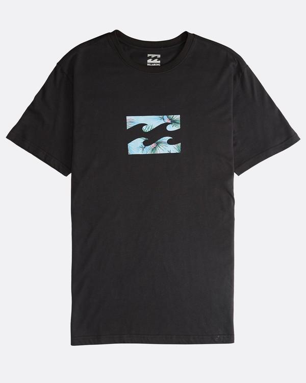 0 Team Wave - T-Shirt für Männer Schwarz Q1SS36BIF9 Billabong