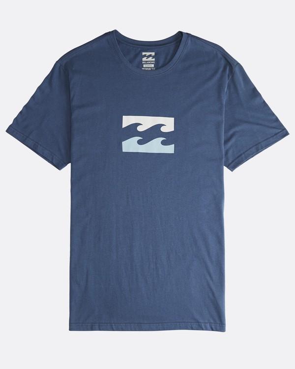 0 Team Wave - T-Shirt für Männer Blau Q1SS36BIF9 Billabong