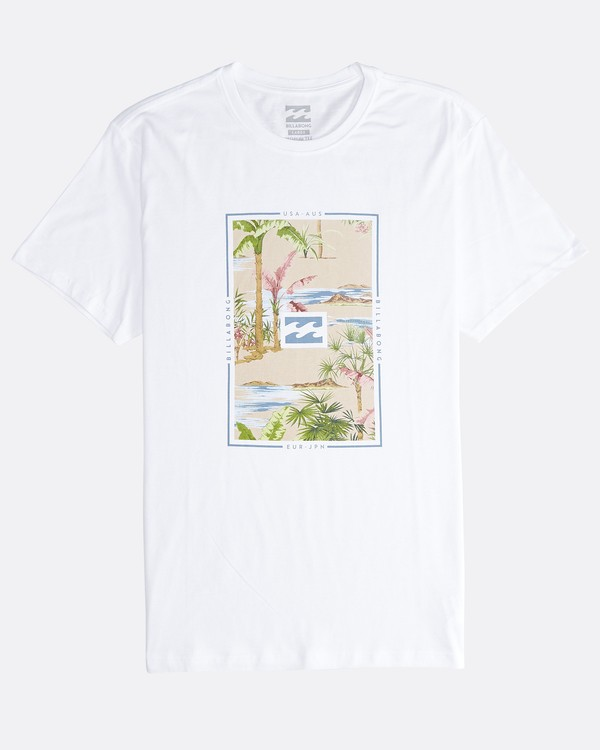 0 Tucked - T-Shirt für Männer Weiss Q1SS40BIF9 Billabong