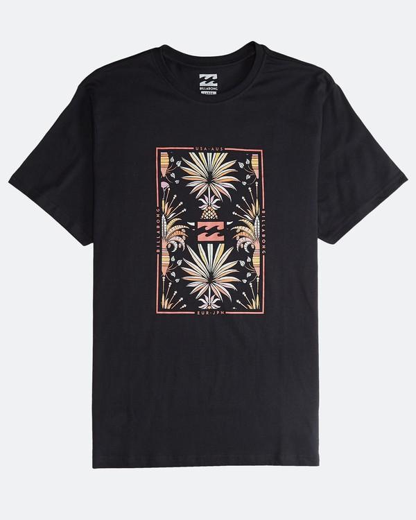 0 Tucked - Camiseta de Manga Corta para Hombre Negro Q1SS40BIF9 Billabong