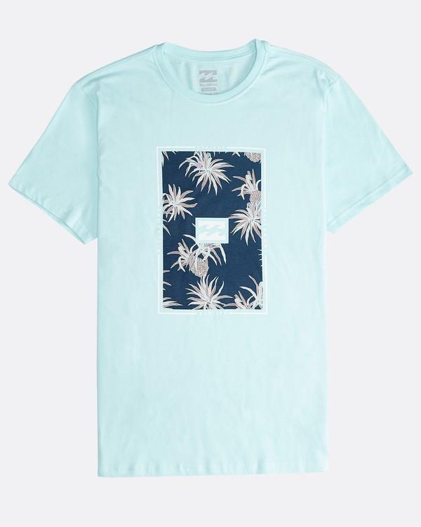 0 Tucked - Camiseta de Manga Corta para Hombre Verde Q1SS40BIF9 Billabong