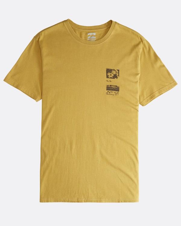 0 Exposure - Camiseta de Manga Corta para Hombre Plateado Q1SS42BIF9 Billabong