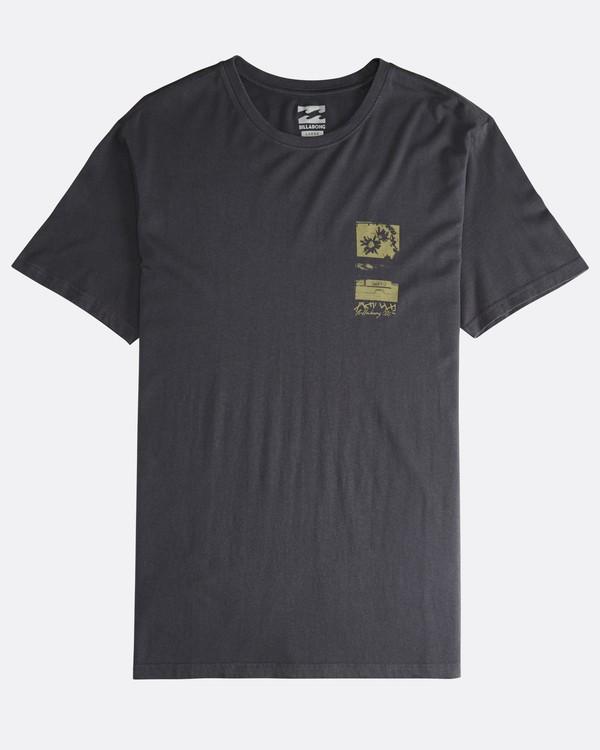 0 Exposure - T-Shirt für Männer Schwarz Q1SS42BIF9 Billabong