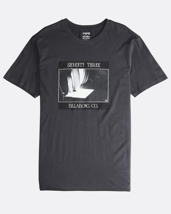 0 Poster - Camiseta de Manga Corta para Hombre Negro Q1SS43BIF9 Billabong