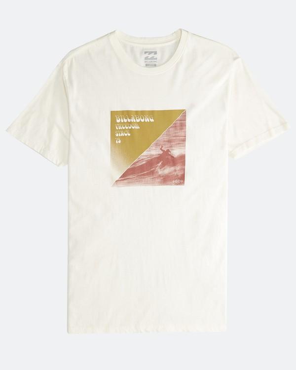 0 Poster - Camiseta de Manga Corta para Hombre Blanco Q1SS43BIF9 Billabong