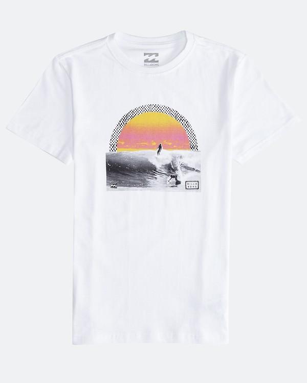 0 High Line - T-Shirt für Männer Weiss Q1SS48BIF9 Billabong