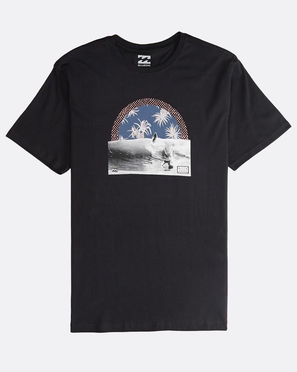 0 High Line - T-Shirt für Männer Schwarz Q1SS48BIF9 Billabong