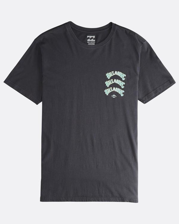 0 Warp - T-Shirt für Männer Schwarz Q1SS49BIF9 Billabong