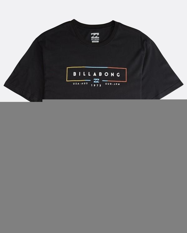 0 Unity - T-Shirt für Männer Schwarz Q1SS57BIF9 Billabong