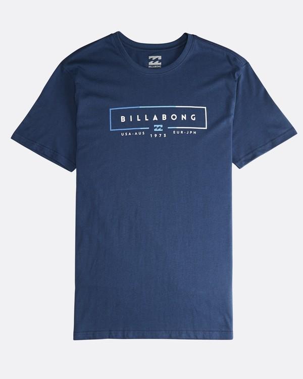 0 Unity - T-Shirt für Männer Blau Q1SS57BIF9 Billabong