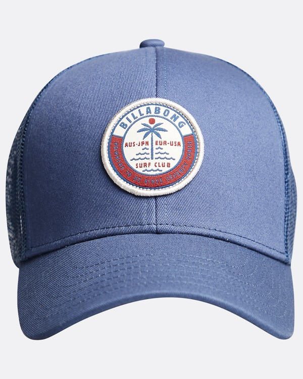 0 Walled - Trucker Cap for Boys Blue Q2CT02BIF9 Billabong