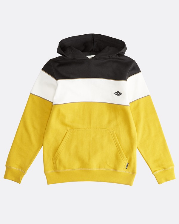 0 Edge - Sudadera con Capucha Hedge para Chicos Amarillo Q2HO10BIF9 Billabong