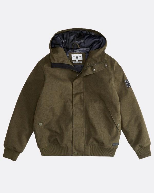 0 All Day - 10K Jacke für Jungen Grün Q2JK05BIF9 Billabong