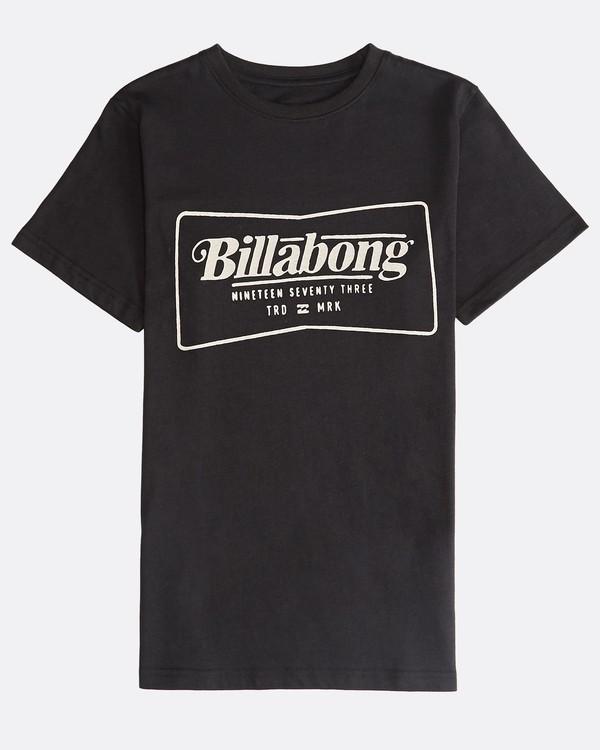 0 Trade Mark - T-Shirt für Jungen Schwarz Q2SS03BIF9 Billabong