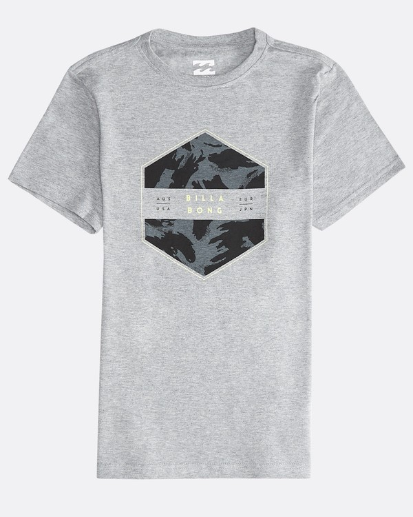 0 Access - Short Sleeves Tee Boy for Boys Gray Q2SS04BIF9 Billabong