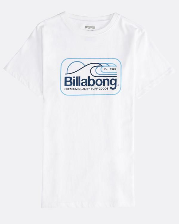 0 Dive - T-Shirt für Jungen Weiss Q2SS07BIF9 Billabong