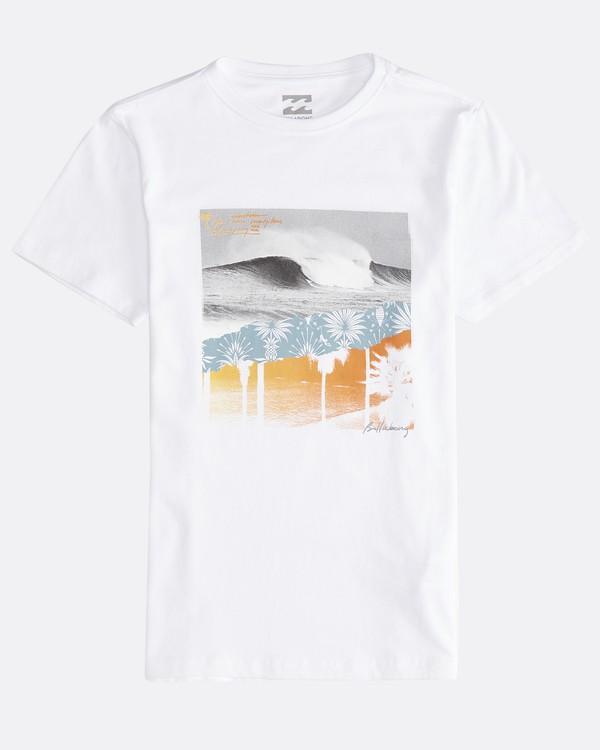 0 Step Back - T-Shirt für Jungen Weiss Q2SS13BIF9 Billabong
