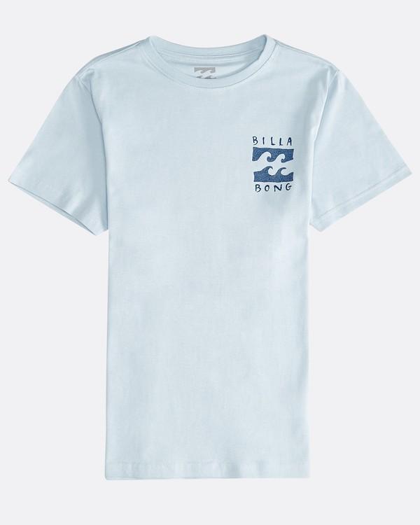 0 Hifive - Camiseta de Manga Corta para Chicos Azul Q2SS16BIF9 Billabong