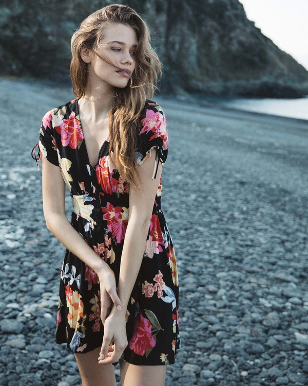 0 Twirl Twist - Dress for Women Black Q3DR15BIF9 Billabong