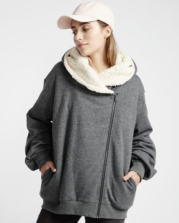 0 Cocoon - Jersey Sherpa para Mujer Negro Q3FL01BIF9 Billabong