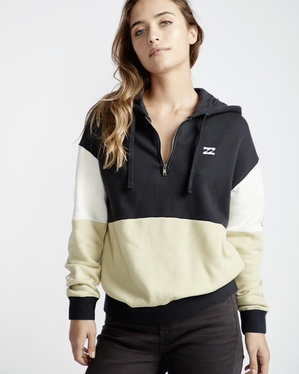 0 Pacific Coast - Fleece für Frauen Grün Q3HO07BIF9 Billabong