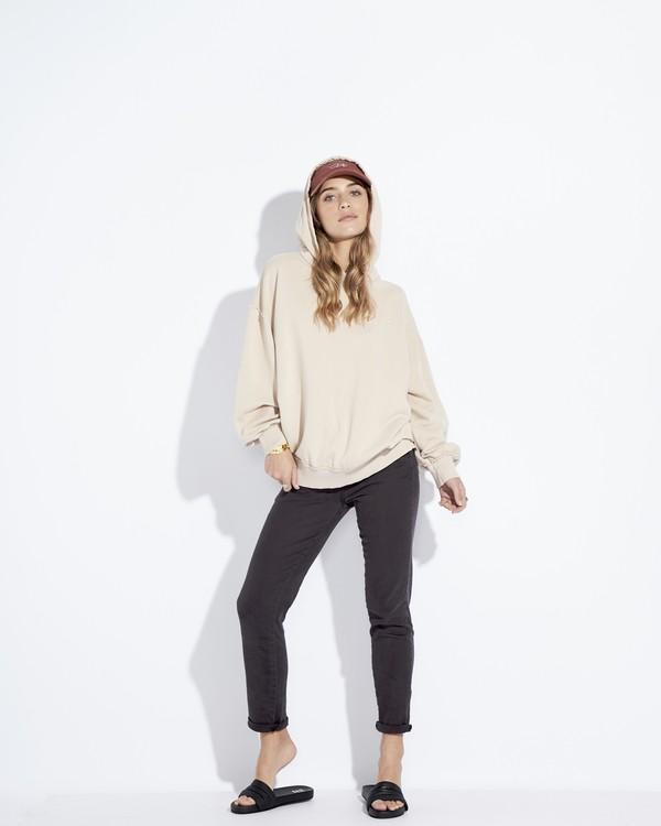 0 Organic - Hood Fleece für Frauen Weiss Q3HO09BIF9 Billabong