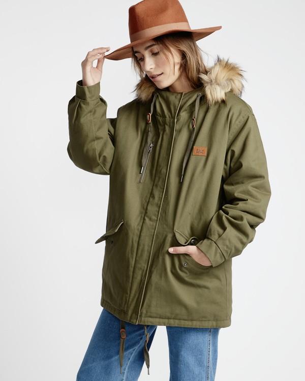0 Westwood - Jacke für Frauen Grün Q3JK08BIF9 Billabong