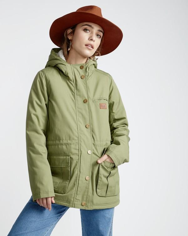 0 Facil Iti - Jacke für Frauen Grün Q3JK11BIF9 Billabong