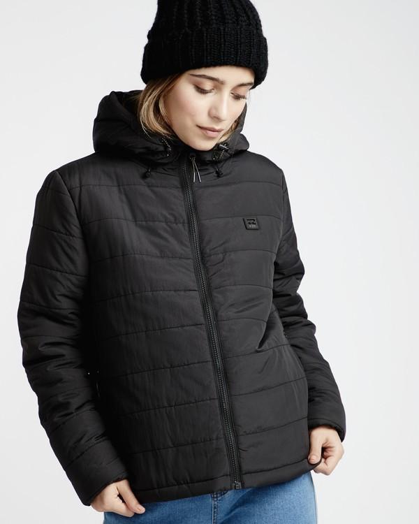0 Transport - Puffer Jacket for Women Black Q3JK13BIF9 Billabong