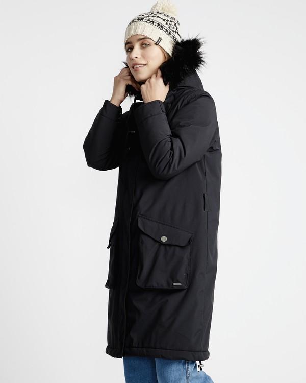 0 Flake - Jacke für Frauen Schwarz Q3JK18BIF9 Billabong