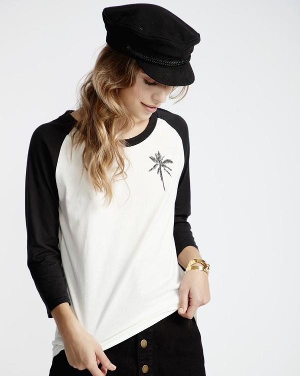 0 Eye Sea Sky - T-Shirt für Frauen Schwarz Q3LS04BIF9 Billabong
