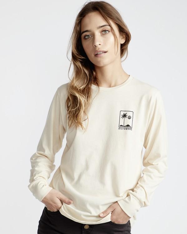 0 High Tide - T-Shirt für Frauen Weiss Q3LS05BIF9 Billabong