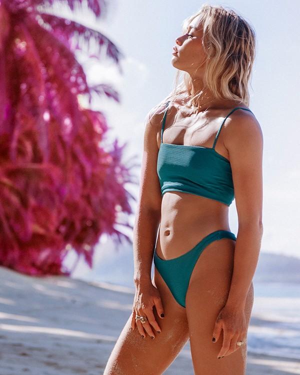 0 Tanlines Tanga - Braguita de Bikini para Mujer Azul Q3SB07BIF9 Billabong