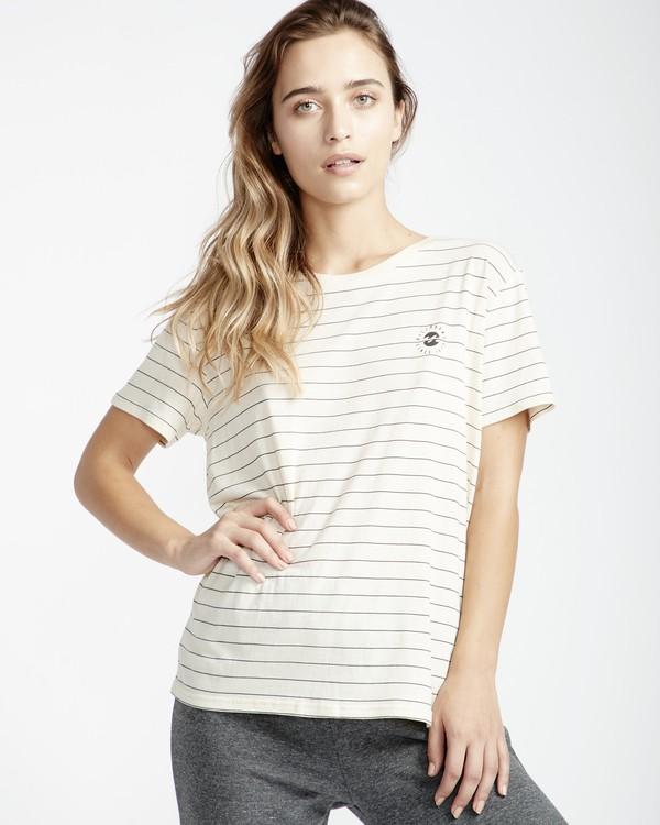 0 Beach Day - T-Shirt für Frauen Weiss Q3SS01BIF9 Billabong