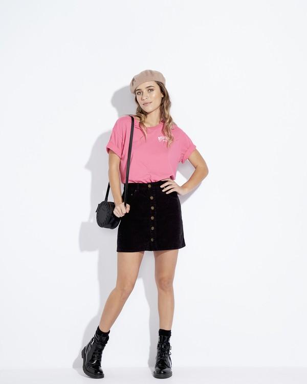 0 Frenchs - French Tees T-Shirt für Frauen Rosa Q3SS07BIF9 Billabong