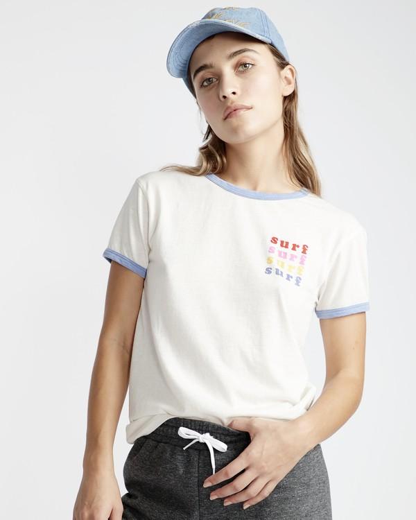 0 Ringer - T-Shirt für Frauen  Q3SS08BIF9 Billabong