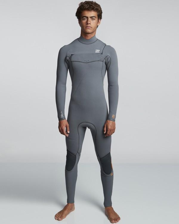 0 4/3mm Furnace Comp GBS - Chest Zip Fullsuit Neoprenanzug für Männer  Q44M03BIF9 Billabong
