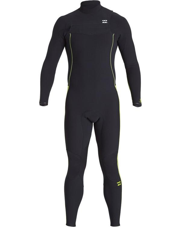 0 4/3mm Furnace Pro  - Pro Chest Zip Fullsuit Neoprenanzug für Männer Grün Q44M06BIF9 Billabong