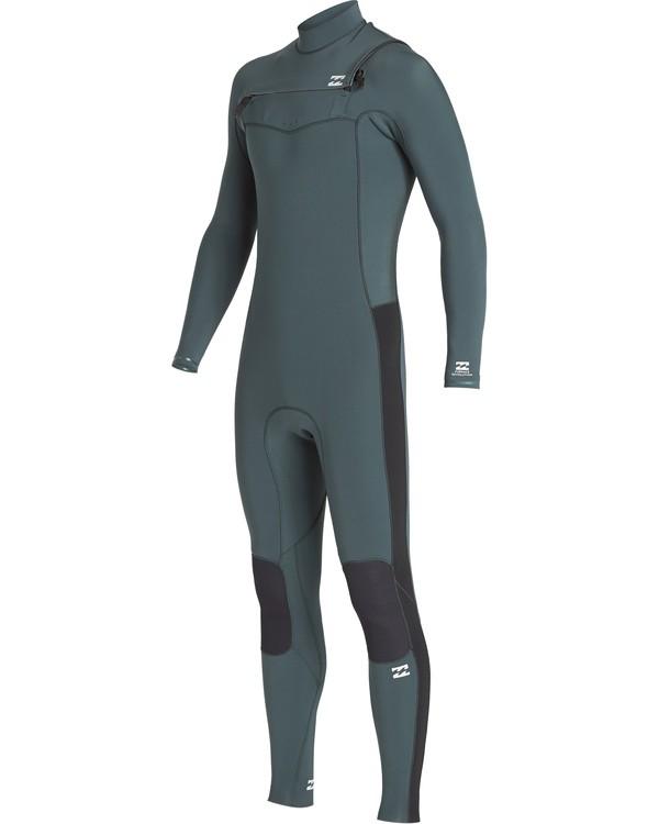 0 4/3mm Furnace Revolution - Chest Zip Long Sleeves Fullsuit Wetsuit for Men  Q44M07BIF9 Billabong